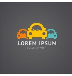 car autoservice logo vector image vector image