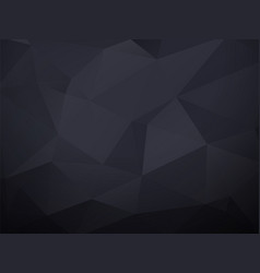 abstract black geometric background vector image