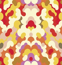 Abstract pattern retro background vector