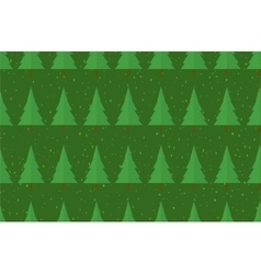 Flat seamless pattern with trees Abstract texture vector image