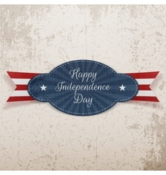 Holiday Graphic Element for Independence Day vector image