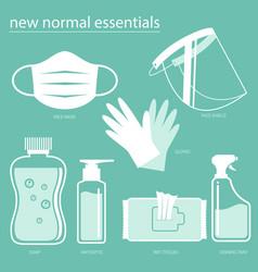 new normal essentials vector image