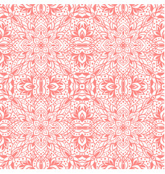 Seamless pattern with arabesques in retro style vector