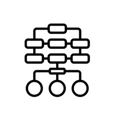 Sitemap vector