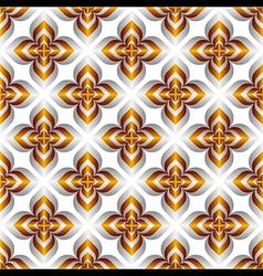creative flower design pattern vector image