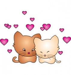 cat vector vector image