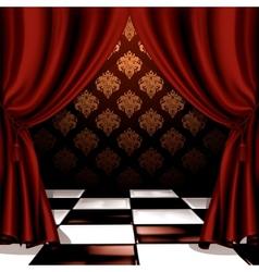 Royal room vector image vector image