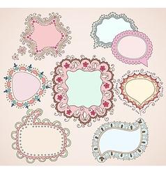 babydrawn bubbles vector image vector image