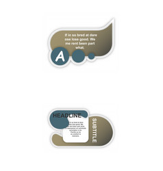Business infografic template presentation vector