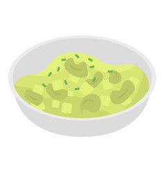 cabbage salad icon isometric style vector image