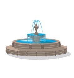 Fountain vector
