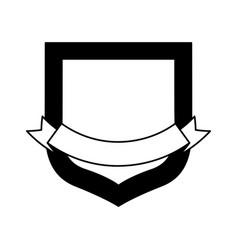 label ribbon empty vector image
