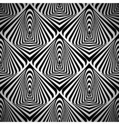 Optical art seamless vector image