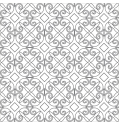 Pattern of linear geometric shapes or vector
