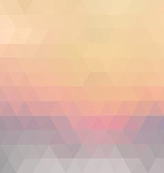 Retro mosaic pattern vector image