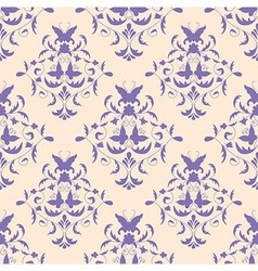 Seamless pattern vintage style vector
