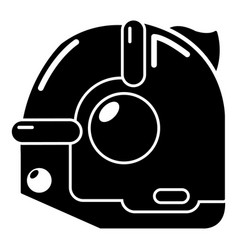construction roulette icon simple black style vector image vector image
