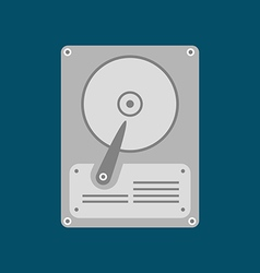 Hdd icon hard disk drive vector