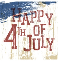 4th july poster vector image vector image