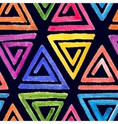 Abstract seamless watercolor pattern 2 vector