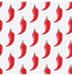 chilli pepper geometric seamless pattern vector image