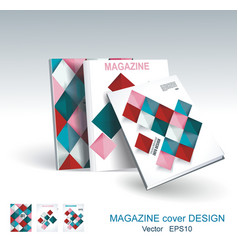design of business brochure magazine flyer vector image vector image