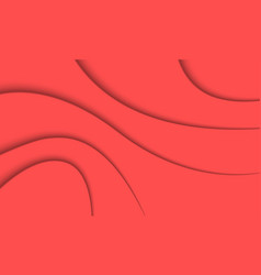 abstract coral color background vector image