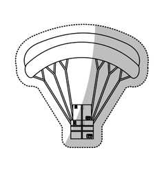 Airmail shipping delivery vector