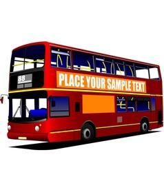 al 1003 city bus vector image