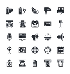 Electronics Icons 7 vector image