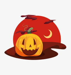halloween celebration day vector image
