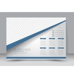Landscape billboard flyer or brochure template vector
