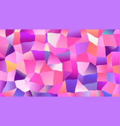 trendy candy colors low poly backdrop design vector image