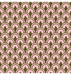 row pattern vector image