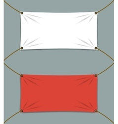 Clean Textile Banners vector image