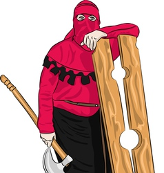 executioner vector image
