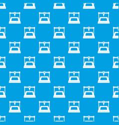 3d printer pattern seamless blue vector image