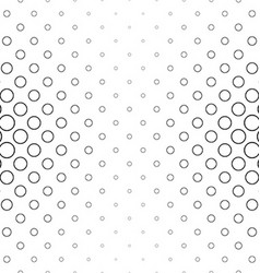 Abstract black and white ring pattern vector