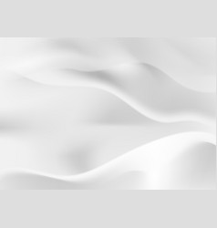 abstract light gray smooth liquid waves background vector image