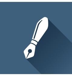 brush icon Epswhite0 vector image