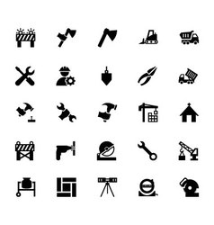 Construction Icons 4 vector image