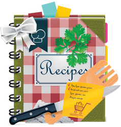 Cooking book xxl icon vector