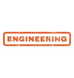 Engineering Rubber Stamp vector