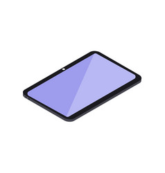 isometric icon tablet vector image