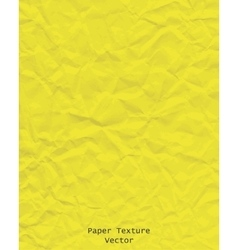 Paper texture yellow vector