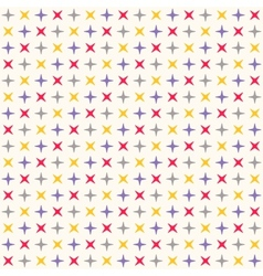 seamless modern geometric polka rhombus pattern vector image