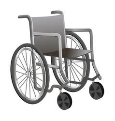 wheelchair icon cartoon style vector image