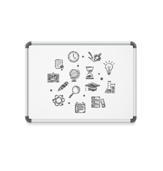 Whiteboard concept icon vector