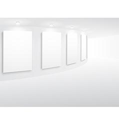 exhibitionarc vector image