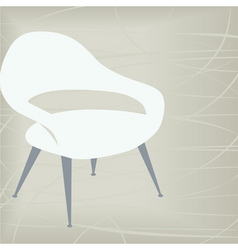 vintage chair icon vector image vector image